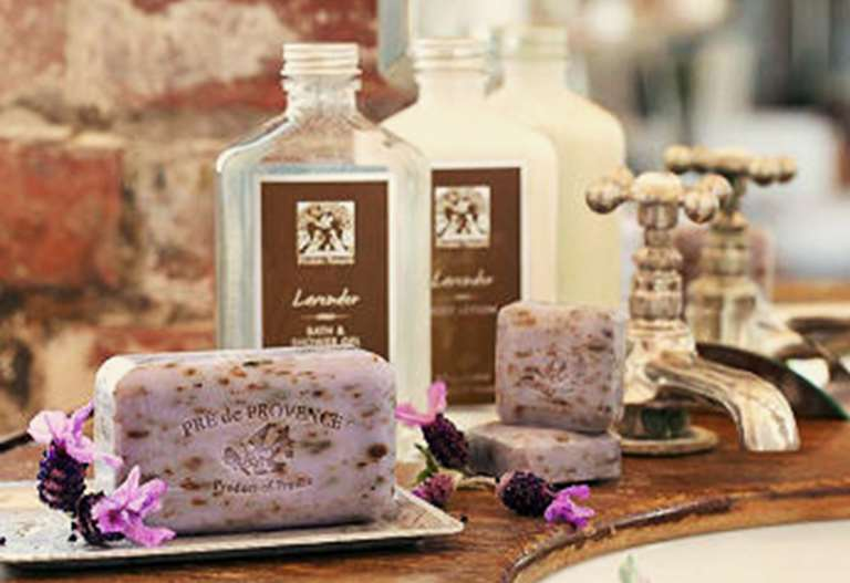 Pre de Provence soaps and lotions
